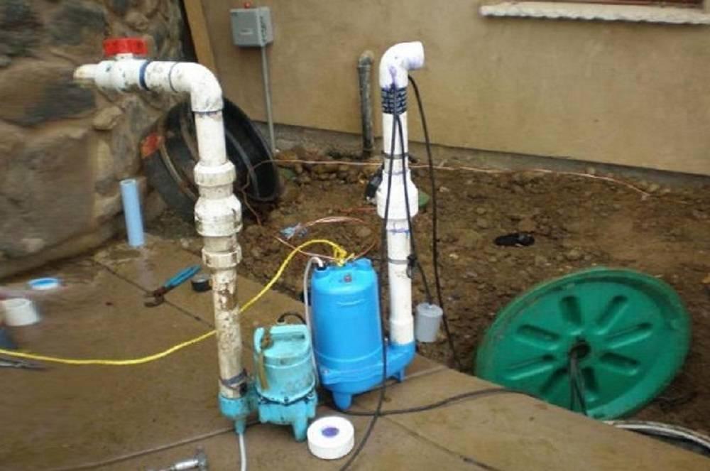 Выбор и установка насоса для фекальной канализации