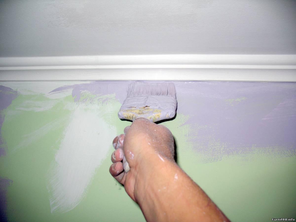 Акриловая краска для ванны
