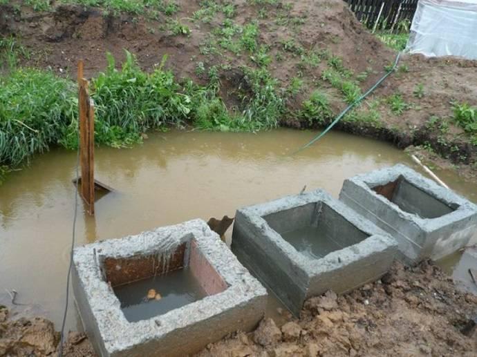 Септик для высоких грунтовых вод: что делать если грунтовые воды близко?