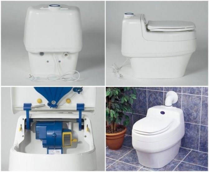 Кассетный биотуалет - все о канализации