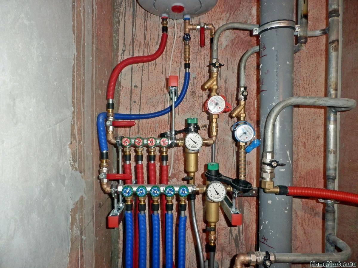 Как сделать разводку водопровода в квартире своими руками - жми!