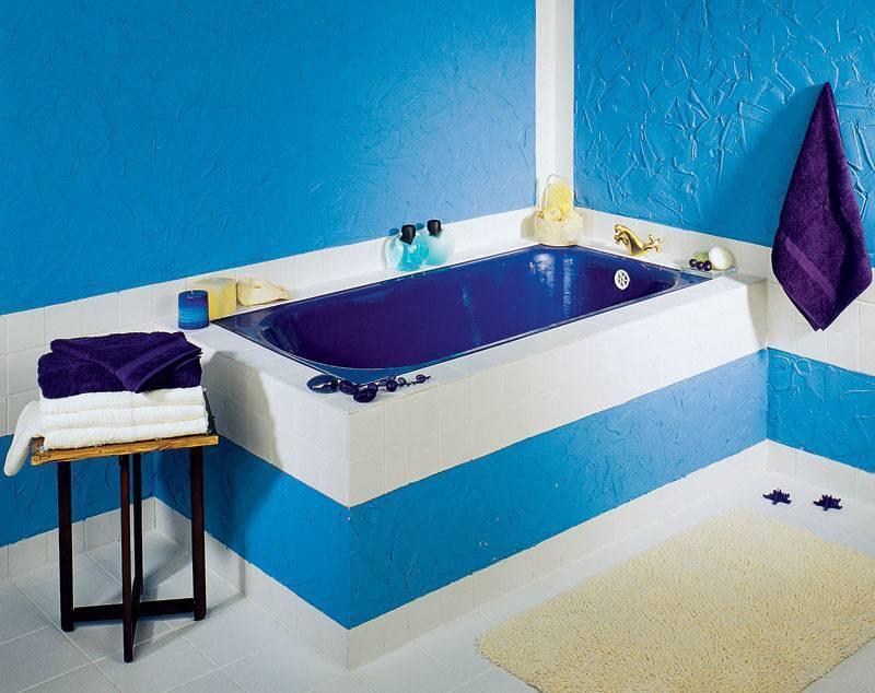Способы самостоятельной окраски чугунной ванны эпоксидной эмалью