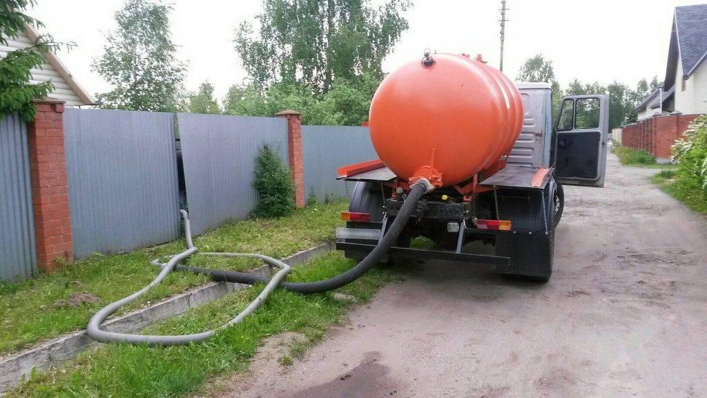 Откачка ямы выгребной - все о канализации