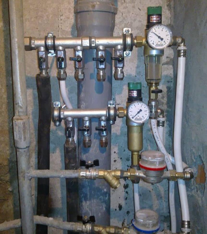 Коллекторная разводка труб водоснабжения в квартире своими руками - жми!