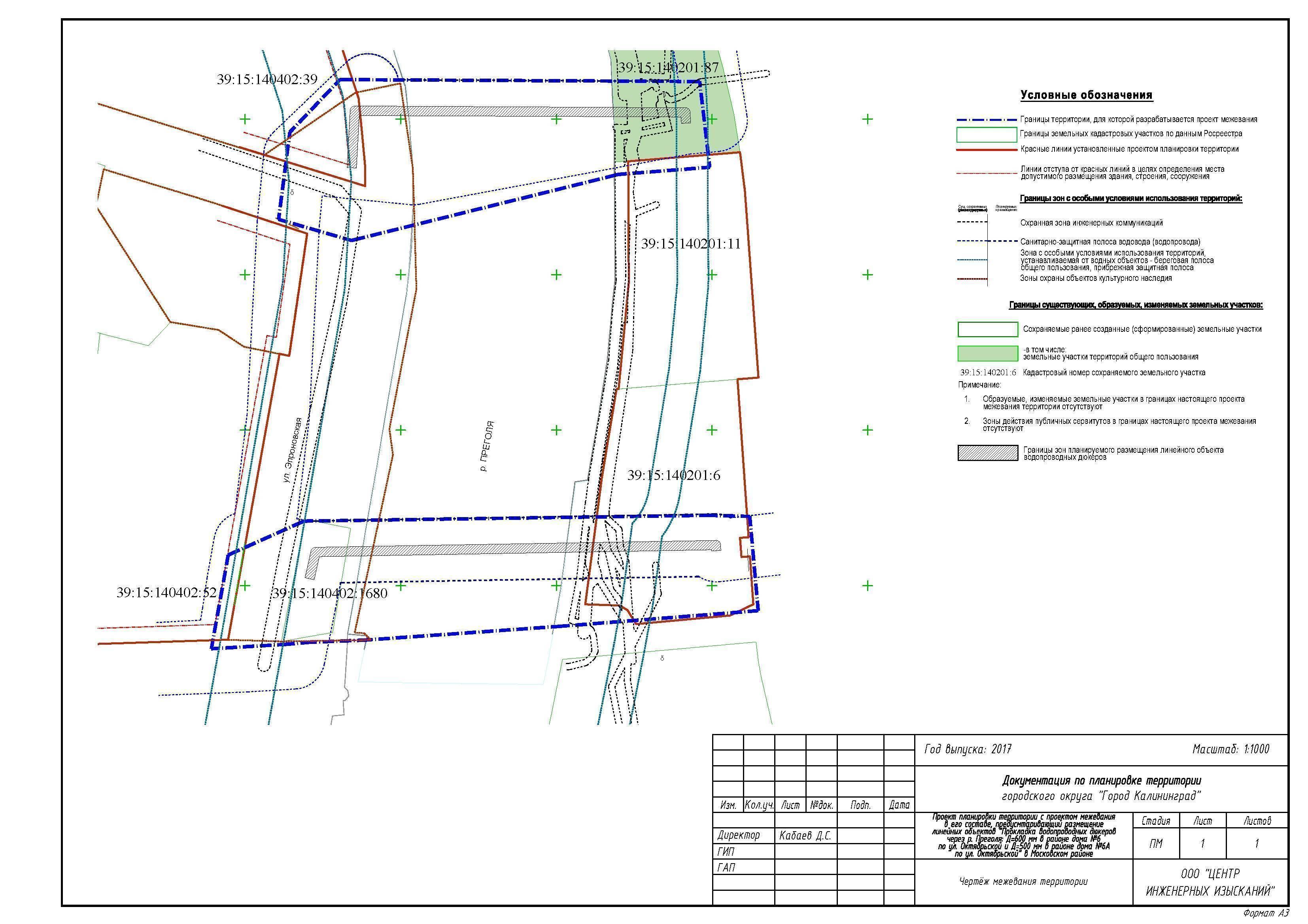 Как определяется охранная зона канализации