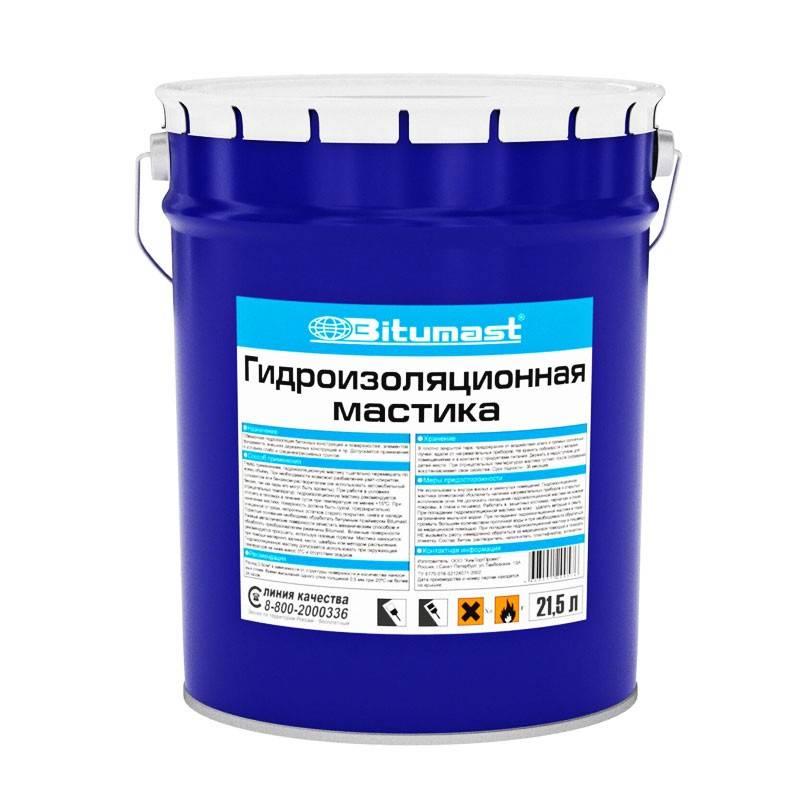 Инструкция по применению битумной гидроизоляционной холодной мастики технониколь 24