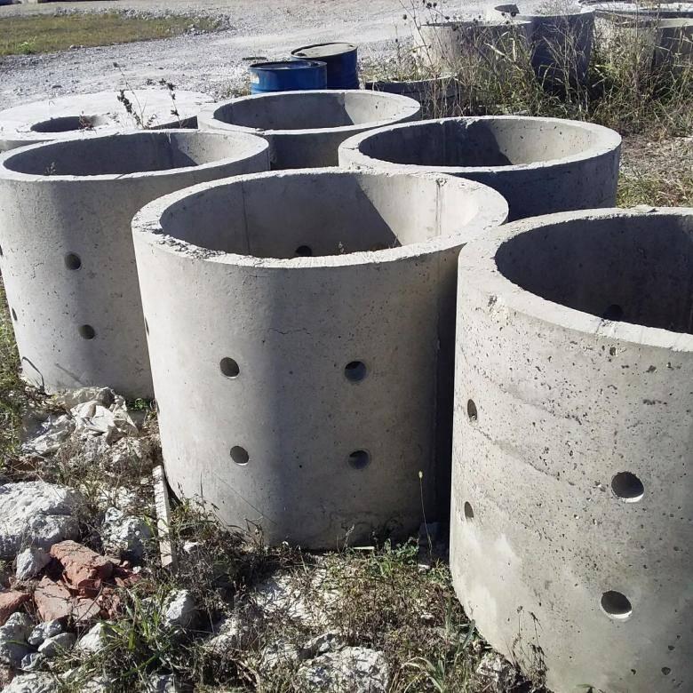 Септик из бетонных колец для частного дома - схема устройства, цена под ключ и отзывы, как сделать своими руками?