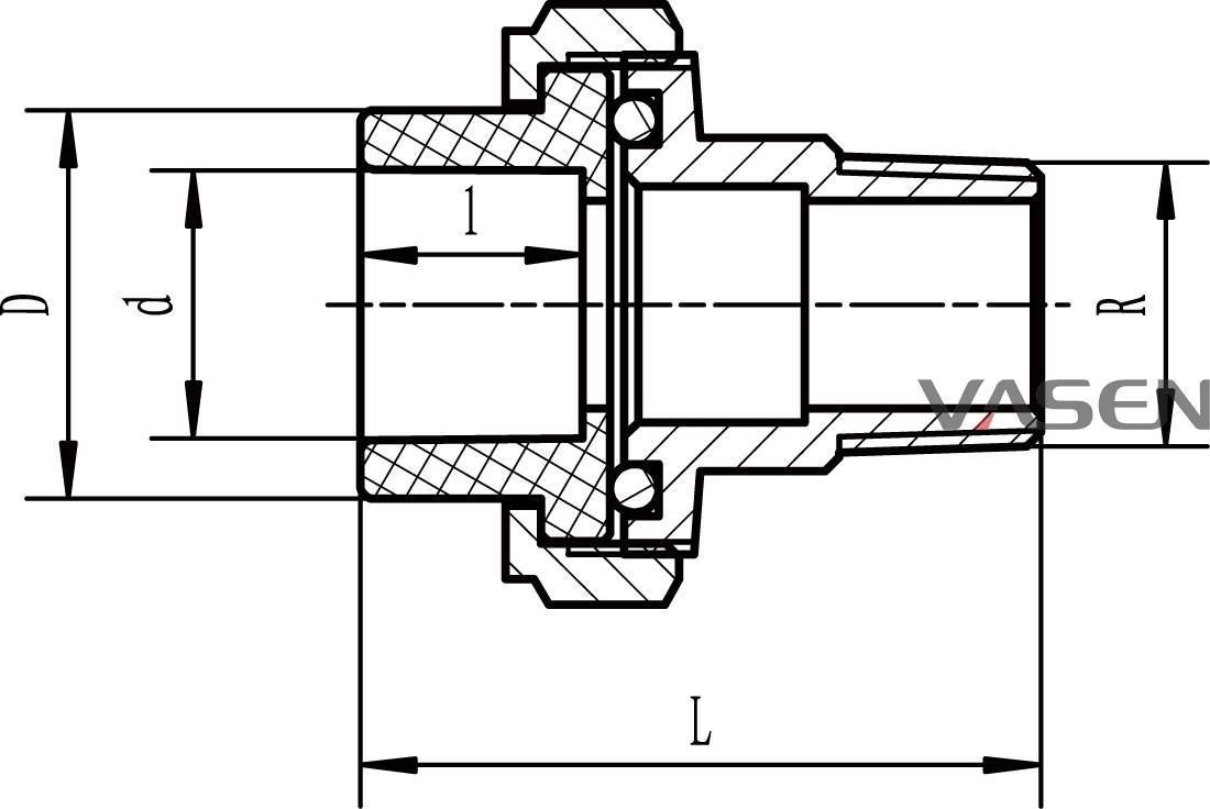 Американка для полипропиленовых труб: обзор муфт и виды соединений, порядок монтажа