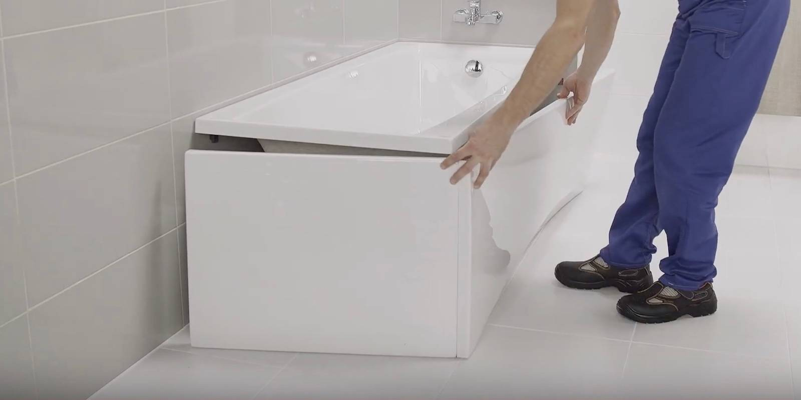 Как установить экран под ванну: установка экрана для ванны, как поставить раздвижной пластиковый экран своими руками, как крепится правильно, как закрепить, как собрать