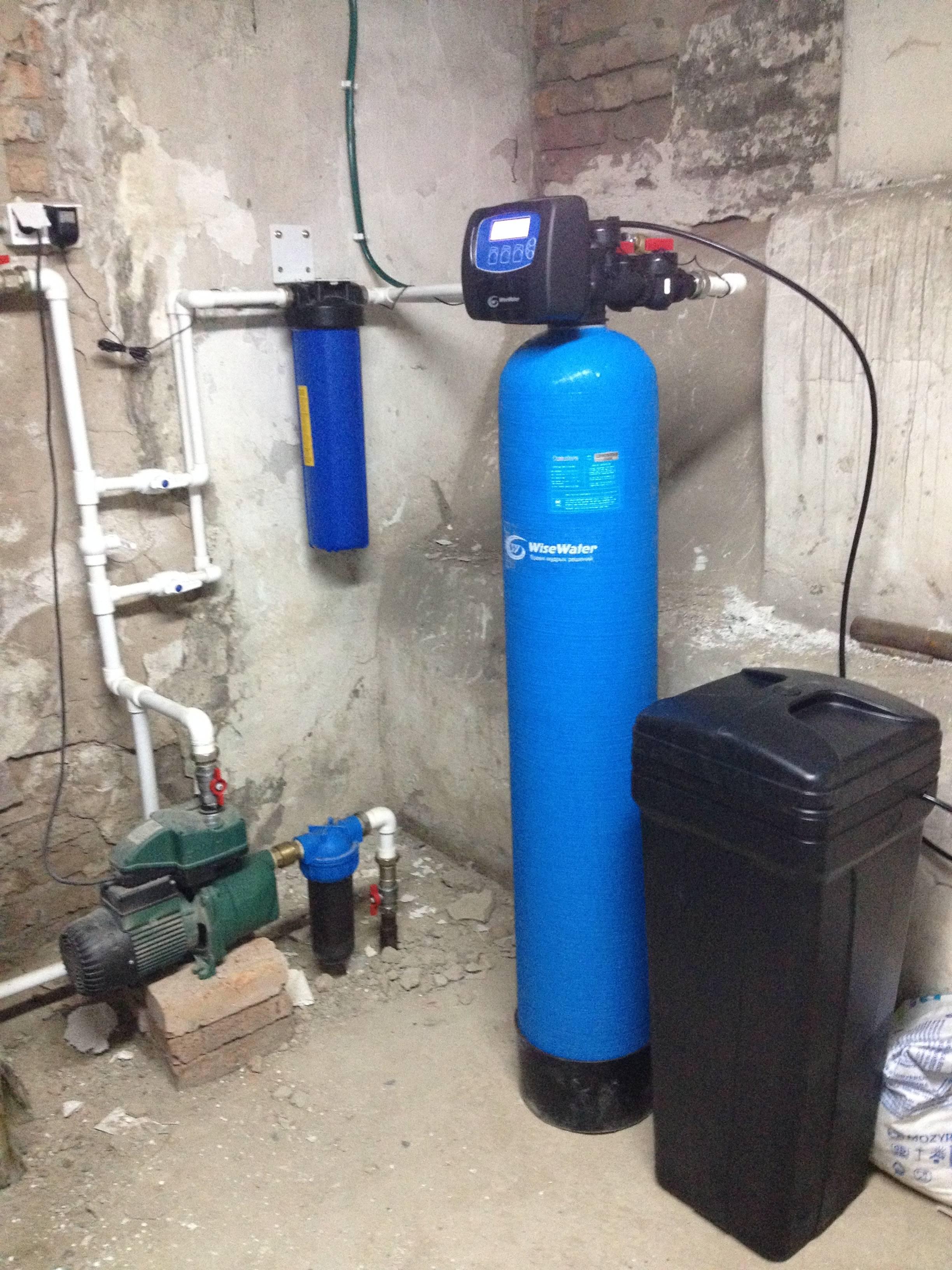 Как обезжелезить воду из скважины своими руками