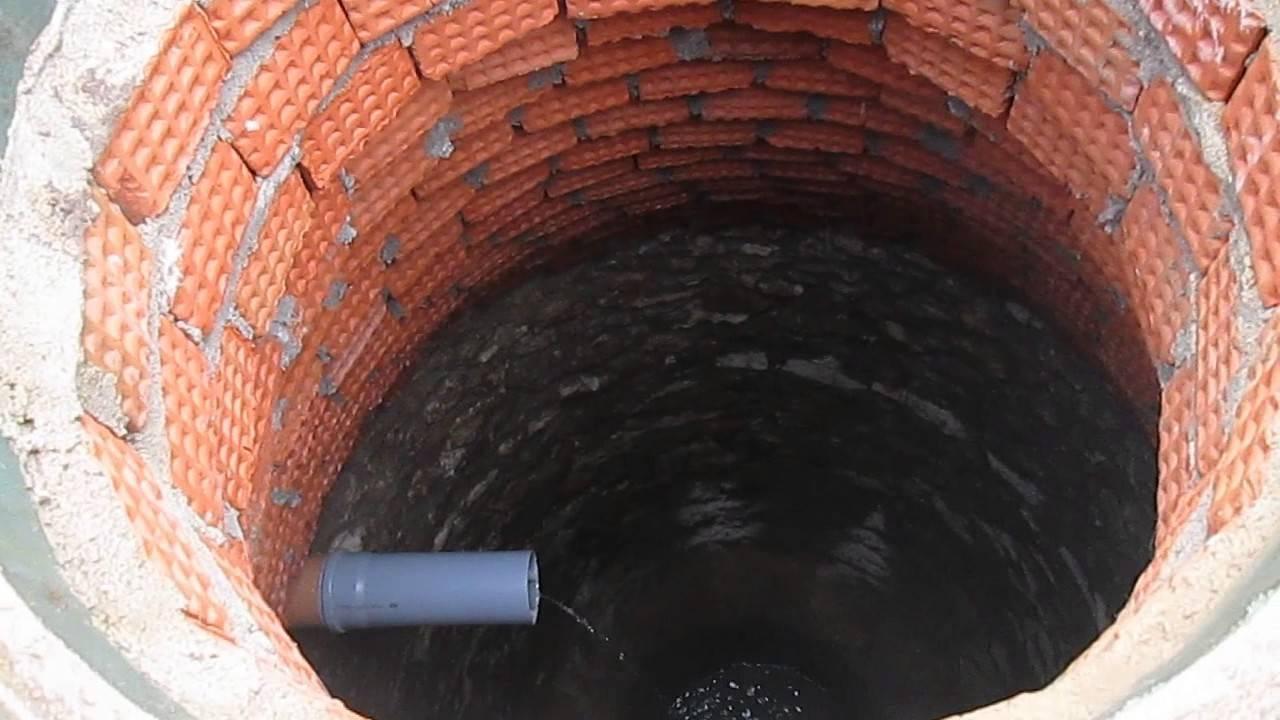 Выгребная яма из кирпича своими руками: фото, видео