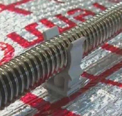 Гофрированная нержавеющая труба для теплого пола: характеристики, цены, монтаж