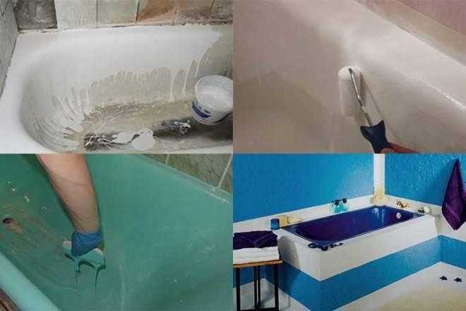 Как выполняется реставрация ванн в домашних условиях?