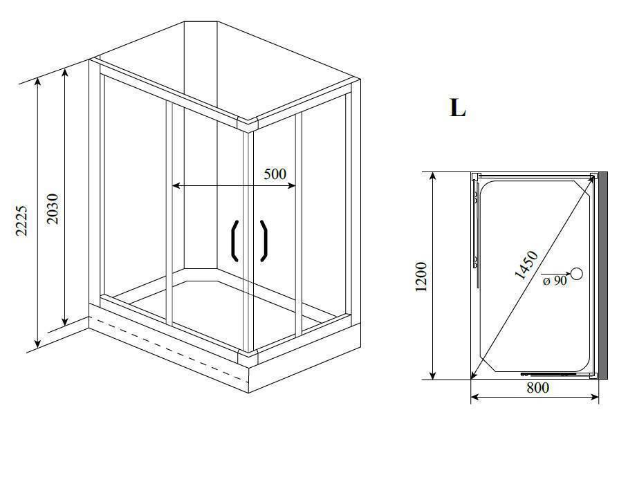 Виды душевых кабин открытого и закрытого типа, основные разновидности для квартиры и дома
