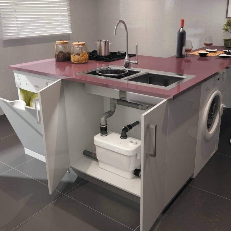Кухонный канализационный насос для квартиры