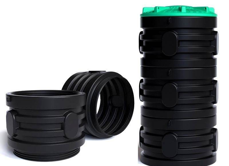 Септик из пластиковых колец - все о септиках