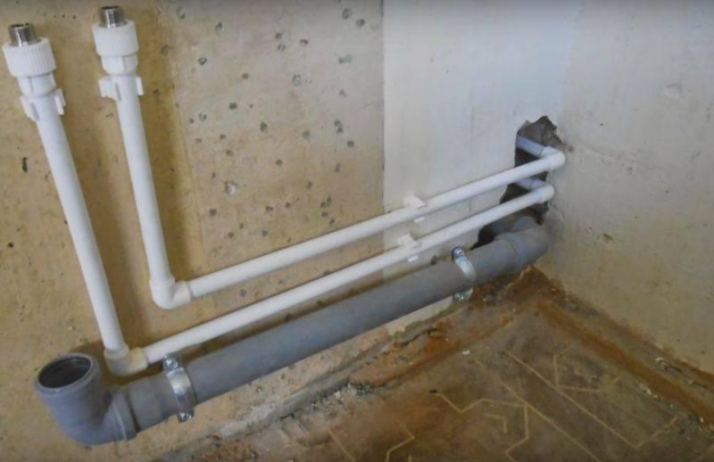 Замена стояков горячего и холодного водоснабжения: особенности устройства, процесс замены в квартире