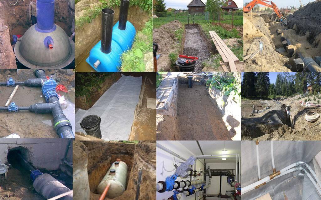 Ремонт водопровода и канализации: ремонт сетей, системы