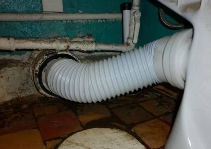 Гофрированные трубы для канализации: удобный монтажи применение