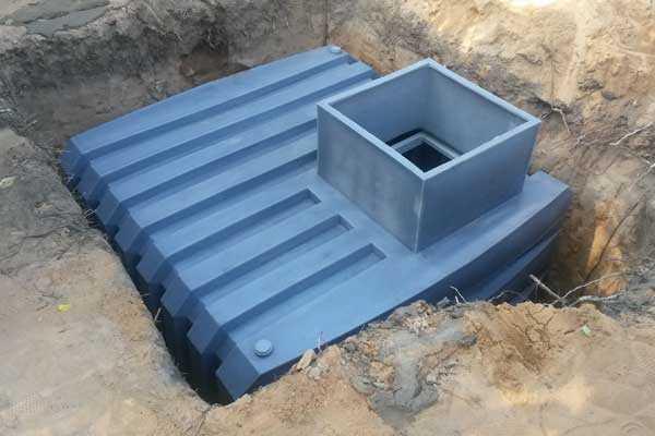 Как установить металлический кессон для погреба?