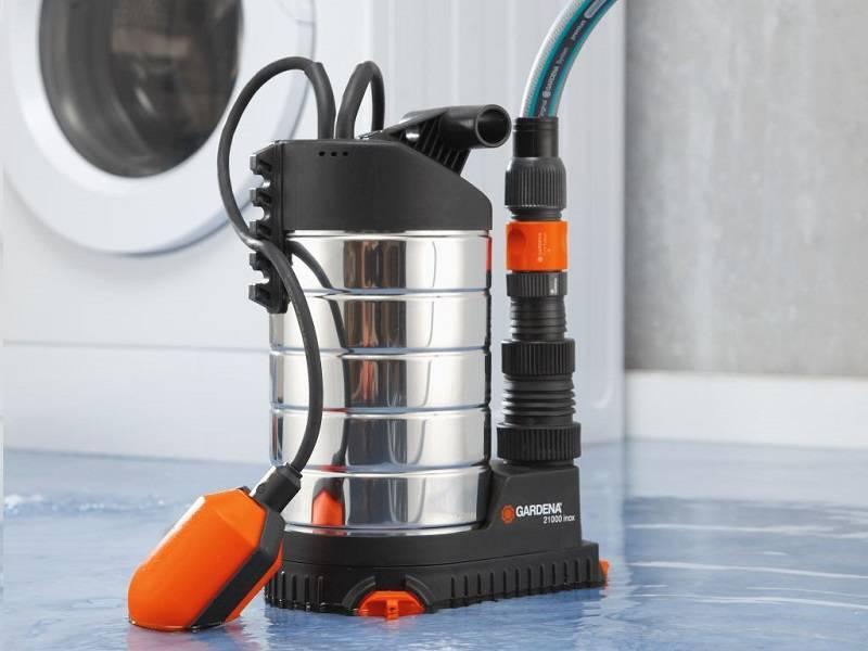 Дренажный насос для грязной воды - какой лучше, поверхностный или погружной