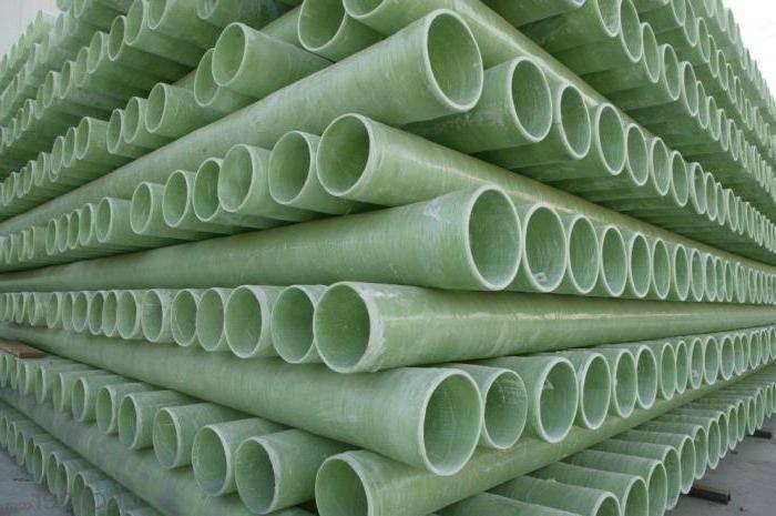 Виды стеклопластиковых труб, характеристики, способы соединения