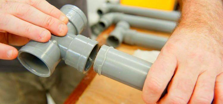 Как соединить две трубы одинакового диаметра без сварки