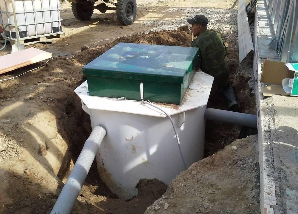 Монтаж канализации и водоотведения