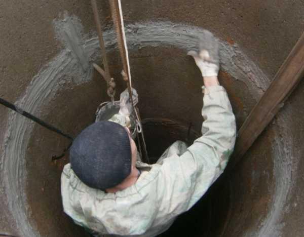 Как производится герметизация канализационных колодцев