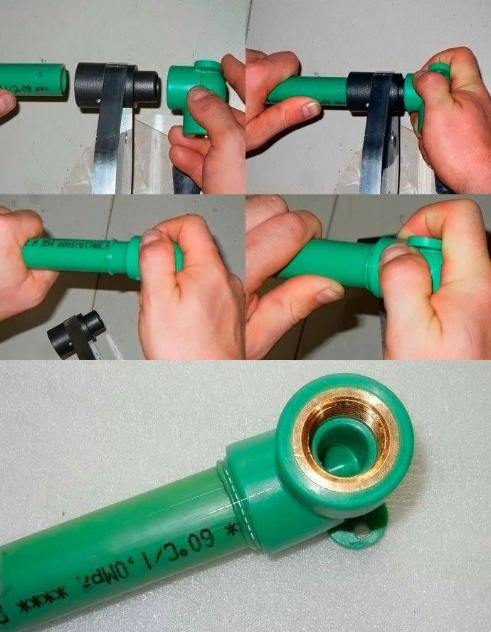 Монтаж полипропиленовых труб своими руками - все о канализации