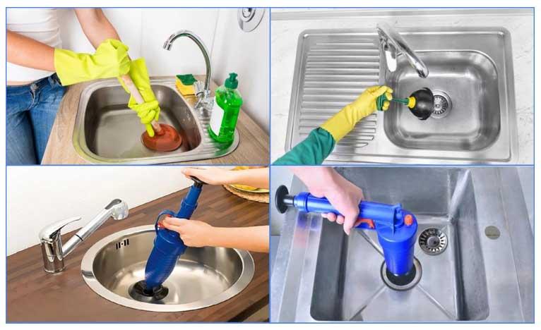 Как прочистить засор в раковине на кухне в домашних условиях подручными средствами