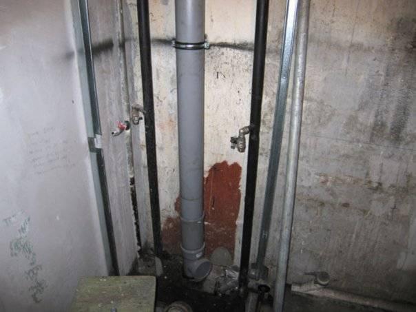 Система и устройство канализации в многоквартирном доме - гидканал