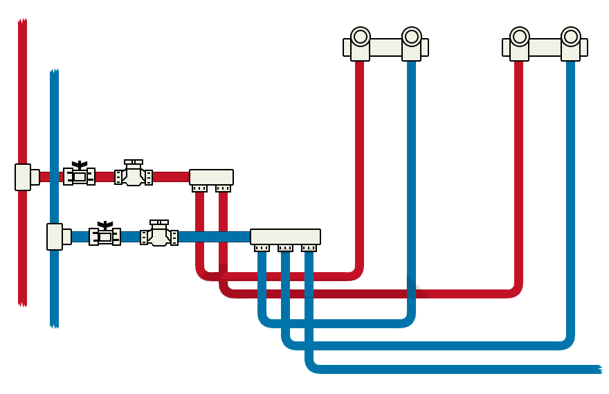 Как выполняется прокладка труб в ванной – от проектирования до монтажа