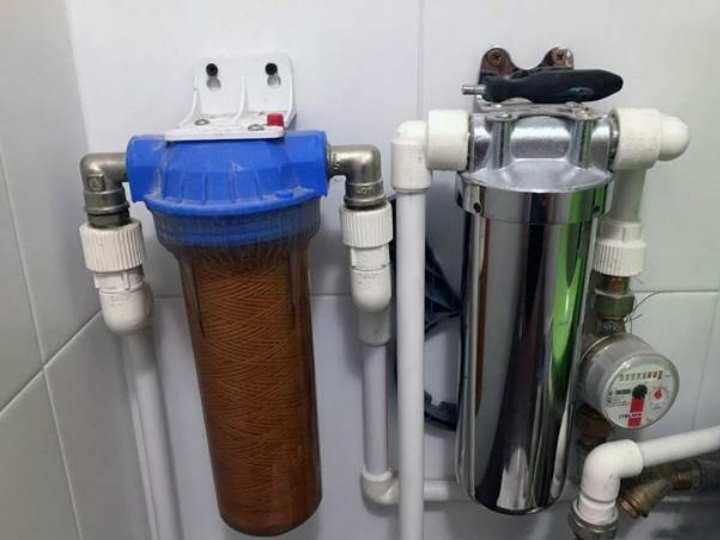 Магистральный фильтр для очистки воды в квартире: виды, устройство, монтаж