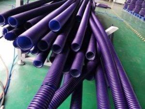 Перфорированная пластиковая труба - характеристики и укладка с геотекстилем