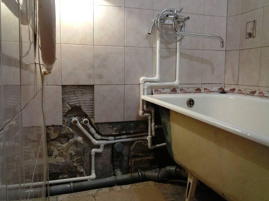 Как скрыть канализационные трубы в ванной и туалете