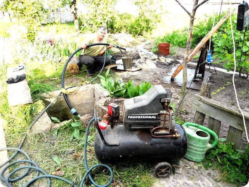 Промывка и прокачка скважины после бурения