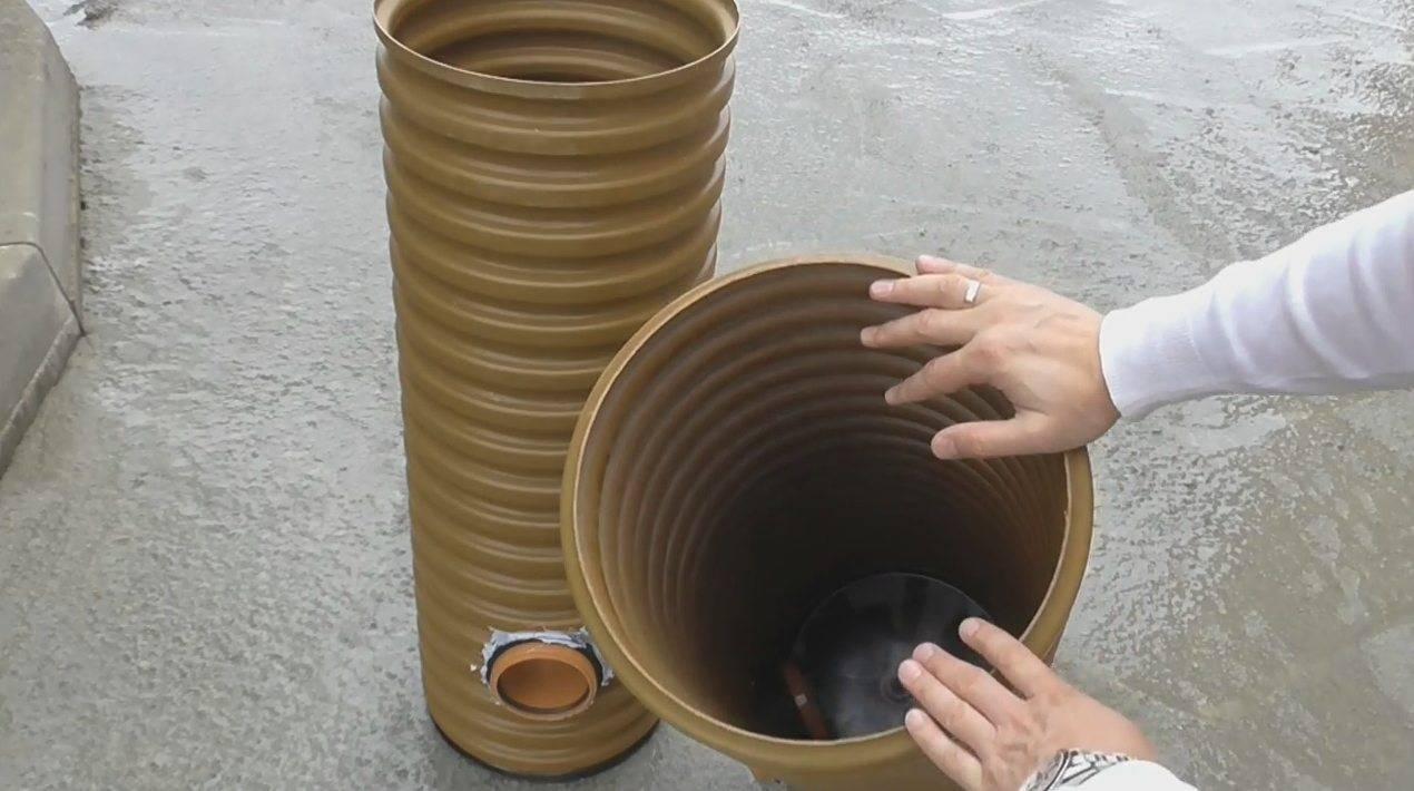 Как установить дренажный колодец своими руками? Инструкция +Фото и Видео