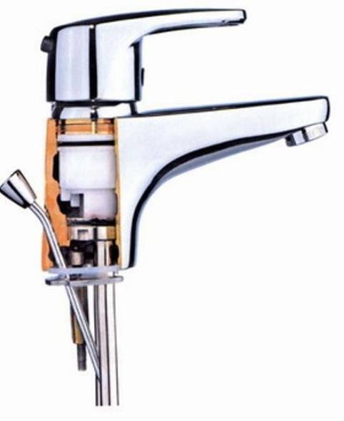 Как разобрать смеситель однорычажный в ванной - все о канализации