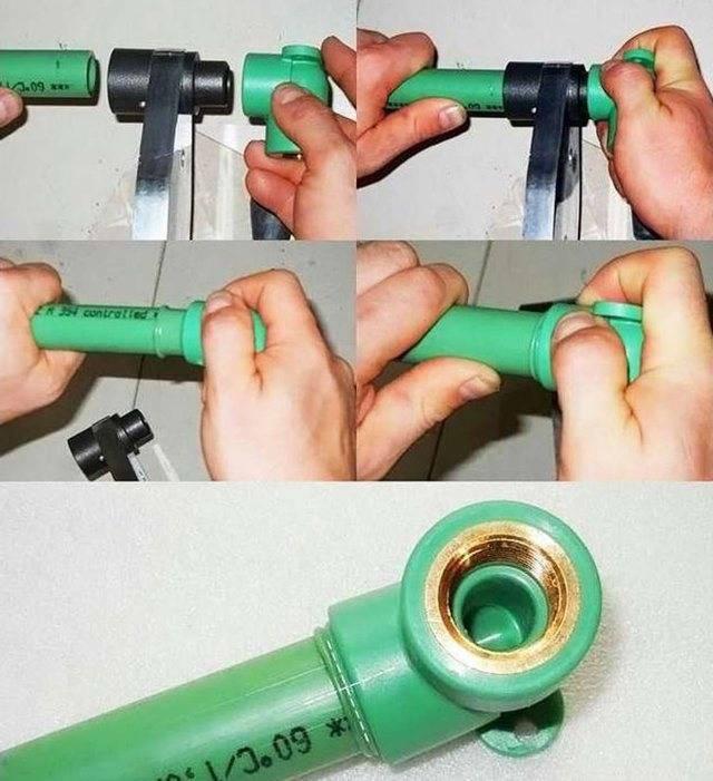 Сварка полиэтиленовых труб: инструменты, оборудование, этапы работ