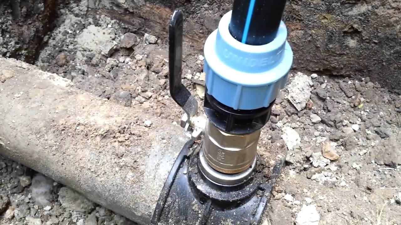 Врезка в трубу водопровода: основные принципы и этапы работ