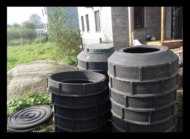 Пластиковые колодезные кольца — современное решение для устройства скважин и системы канализации