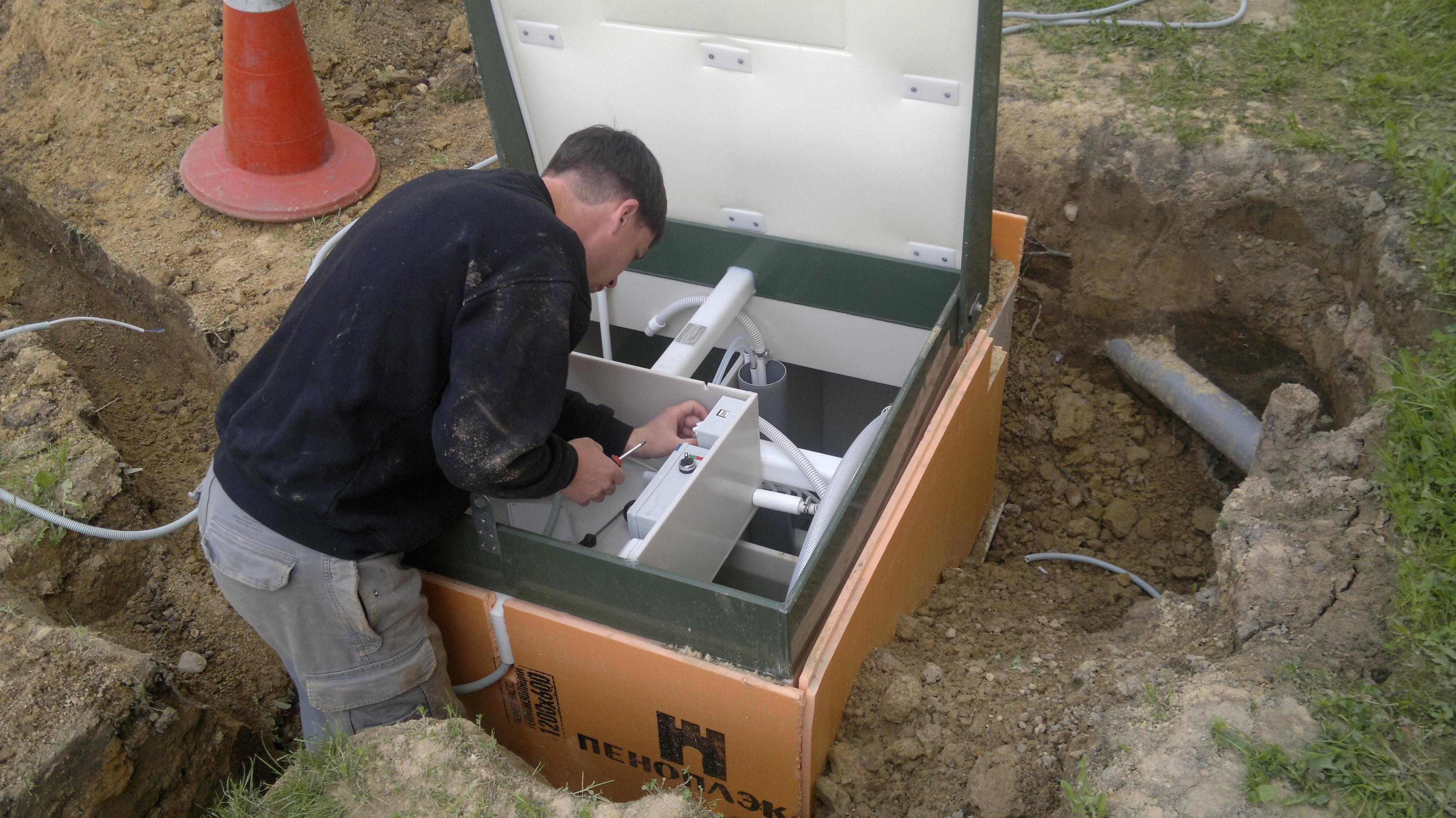 Установка систем водоподготовки и водоочистки