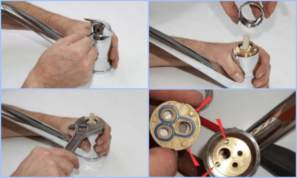 Ремонт шарового смесителя на кухне своими руками: пошаговая инструкция для новичков