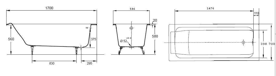 Сколько весит стальная ванна и может ли она выдержать большого бодибилдера?