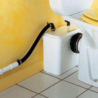 Насос с измельчителем для туалета