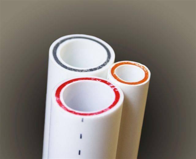 Полипропиленовые трубы, армированные стекловолокном для отопления