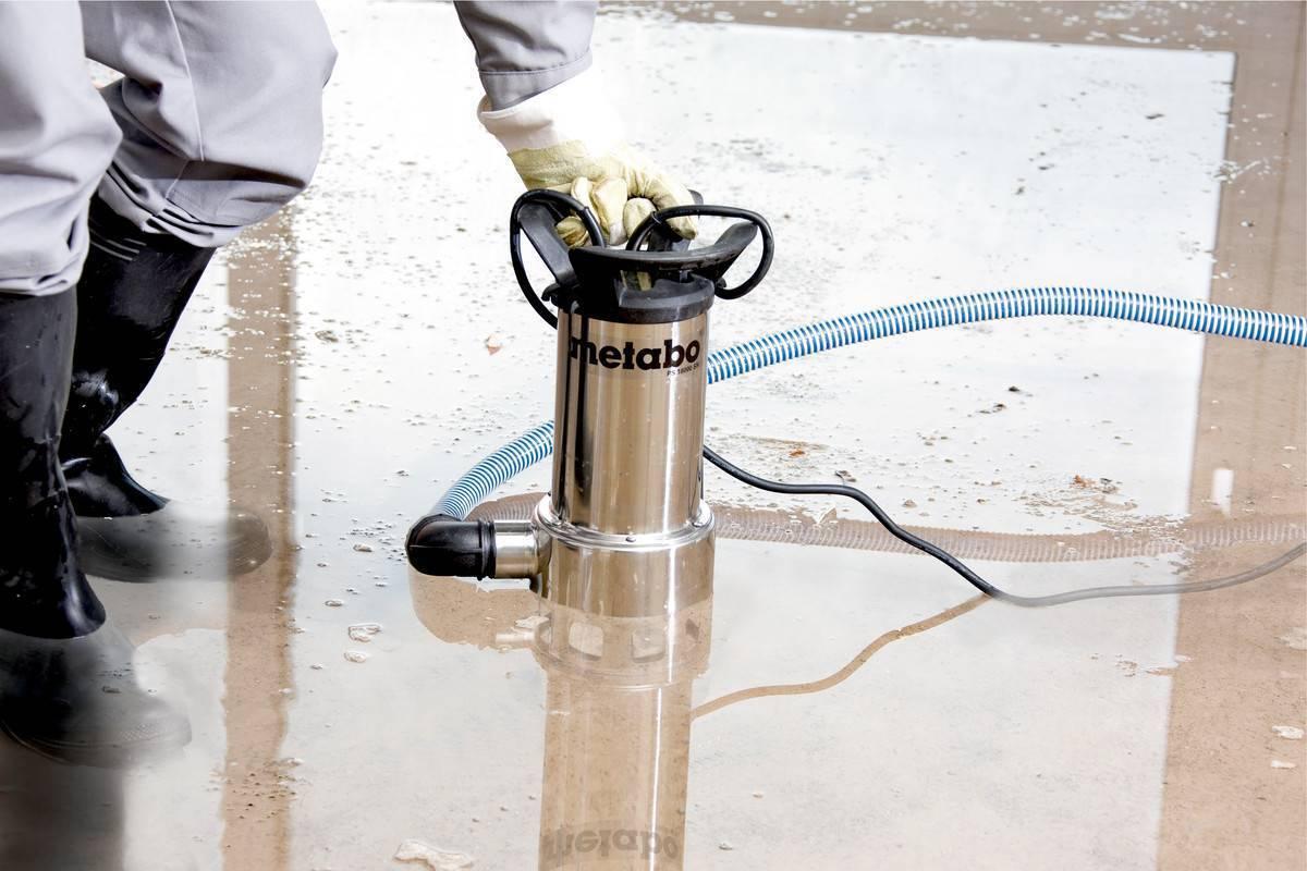 Как выбрать насос для откачки воды