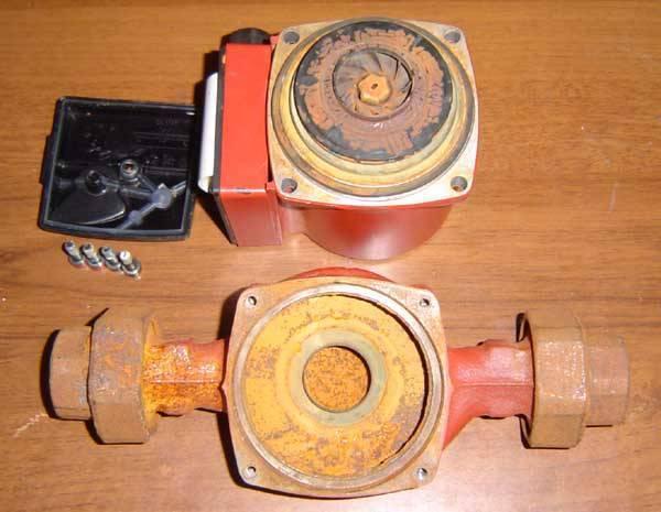 Ремонт циркуляционного насоса для отопления, как разобрать агрегат своими руками, неисправности