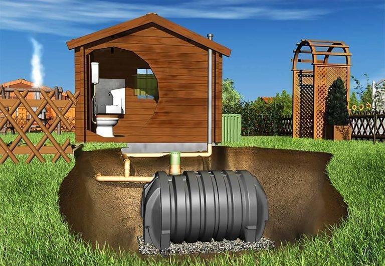 Туалет без канализации в частном доме - как устроить